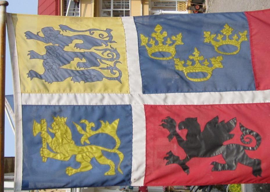 Фото 5. Флаг Кальмарской унии.JPG